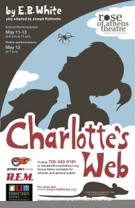 Charlotte's Web 2010 Poster Design by Regina McCormick