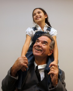 Ray Paolino as Atticus & Bianca Oliveri as Scout