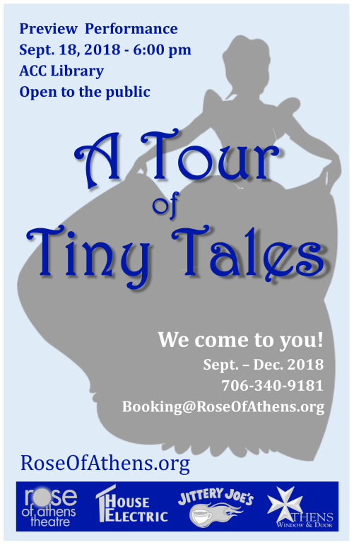 Tiny Tales Show Poster